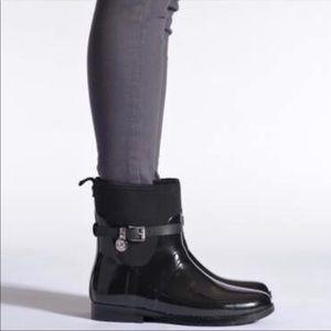 NWOT Michael Kors Charm Stretch Rain Boot